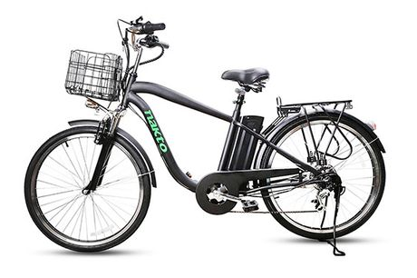Elektrisk Herre Cykel - 2021 Model - Høj Kvalitets El Cykel med Høj Komfort & Stor Køreglæde