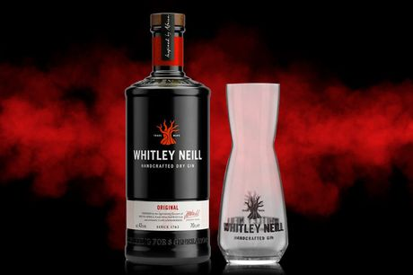£24 for a 70cl bottle of Whitley Neill Original dry gin and carafe from Sadler's Peaky Blinder