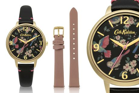 £16 instead of £69 for a water-resistant Cath Kidston floral watch set from Brand Arena - save 77%