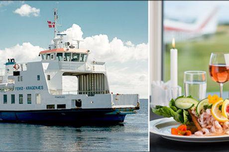 SUPER deal på Øhop i Smålandshavet. - 5 fantastiske overnatninger for 2 personer med forplejning, færgebilletter til de nærliggende øer mm. Værdi kr. 8200,-