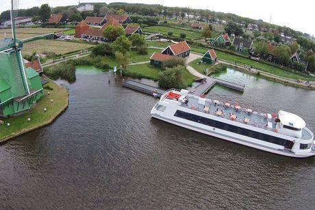 Rondvaart Zaanse Schans - Amsterdam Duur rondvaart: 2 uur <br /> Afvaartlocatie vanuit de Zaanse Schans<br /> Geldig t/m 6 september 2021