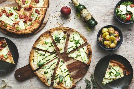 Kun i dag! Dej: Pizza hotspot ved Kødbyen med italiensk-importerede råvarer og stenovn.