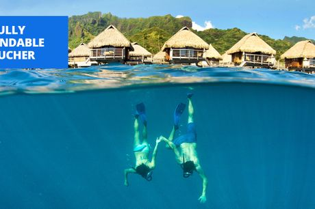 £719pp -- French Polynesia week with private pool, 56% off