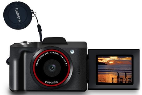HD 16X Zoom 16MP Digital Camera - Optional 32GB Memory Card     16MP with16x zoom     Easy to operate - perfect for beginners     Dimensions: 110mm x 68mm x 75mm     Comes with a lens cap, USB cable and an instruction booklet     Perfect as a gi