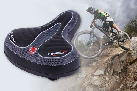 £9.99 for a gel padded bicycle cushion from Price Outlet!