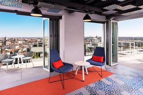 Spagna Madrid - Aloft Madrid Gran Vía 4* a partire da € 66,00. Vista panoramica con stile moderno