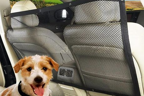 £7.99 instead of £49.99 for a car mesh net pet barrier from Wishwhooshoffers - save 84%
