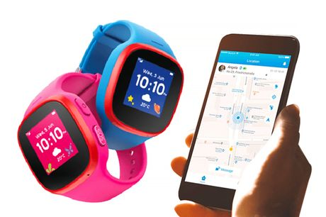 £34.99 instead of £111.88 for a V-Kids by Vodaphone tracker smartwatch from Receptive Solutions Limited - save 69%