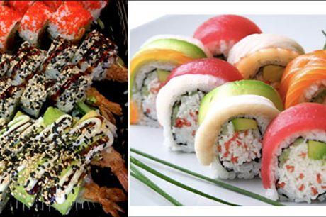 Glæd dig til lækker sushi til rigtig gode priser.. - Mums - Takeaway fra Shibuya Sushi. Vælg mellem 36 eller 50 stk. Værdi op til kr. 478,-