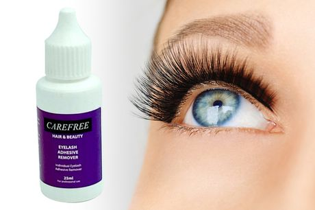 £7.99 instead of £11.99 for a 25ml bottle of lash glue remover from Carefree Toiletries – save 33%