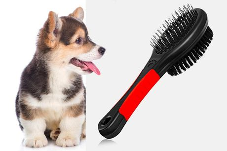 £5.99 instead of £19.99 for a double sided pet grooming brush from Magic Trend - save 70%