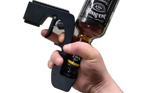 Celebration Wine Sprayer & Bottle Opener - 4 Colours. Spritz yourself in champers with theCelebration Wine Sprayer  and  Bottle Opener     Great fun at parties, weddings, graduations and other special occasions.     Can be used with just one hand to f