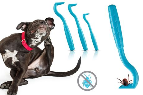 £1 instead of £7.99 for a 3 Pack of Pet Tick Removers from Forever Cosmetics - save up to 87%