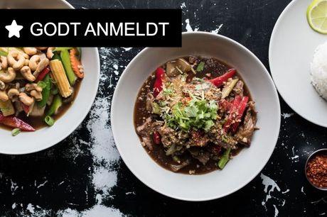 Kun i dag! Cafeloppen: Spis autentisk med thai køkkenets velkrydrede take away menu.
