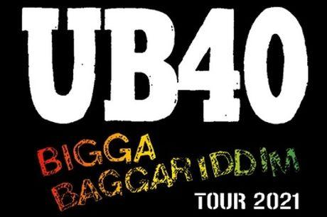 UB40 2021 UK Tour, 24 November - 22 December (Up to 18% Off)