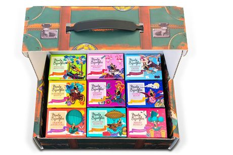 £25 instead of £40 for a Monty Bojangles 9-Flavour Chocolate Truffle Trunk from Monty Bojangles - enjoy 100 truffles and save 38%