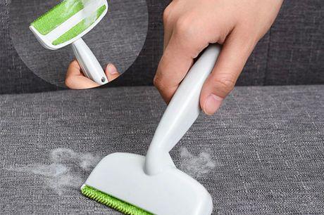Smart hårfjerningsbørste - Få let og enkelt fjernet hår fra dit tøj, sofa og møbler. Er du træt af fnug, hår osv. som du næsten ikke kan fjerne? Så er denne hårfjerningsbørste perfekt til dig Med hjælp fra denne børste kan du let 0g enkelt fjerne hår/fnug