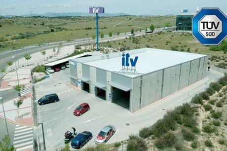 ITV con tasas incluidas para vehículos gasolina o diésel en Atisae ITV Alcobendas (hasta 30% de descuento)