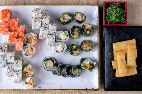 Take away Sushi fra Yaki Yaki. Få smagen af Japan med hjem - 34 el. hele 42 stykker