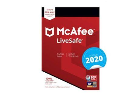 1 año de antivirus McAfee Livesafe 2020 para hasta 10 dispositivos (envío gratis)