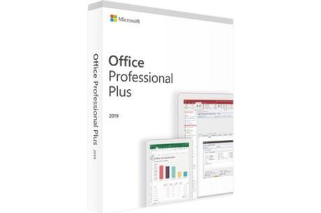 Microsoft Office 2019 Professional Plus para 1 dispositivo