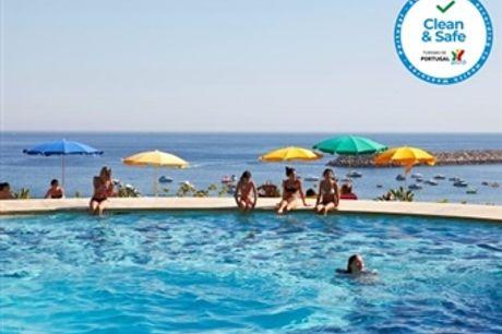 HOTEL do MAR 4*: Estadia em Sesimbra com Vista Mar, Opção de Meia Pensão, Piscina Exterior e Estacionamento desde 49.90€. CRIANÇA GRÁTIS!