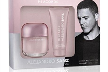Conjunto de Perfume Mulher Mi Acorde Alejandro Sanz (2 pcs) por 22.44€ PORTES INCLUÍDOS