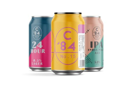 £12 instead of £24 for a craft beer tasting box from C84 Brew Co including 12 330ml cans - sip and save 50%