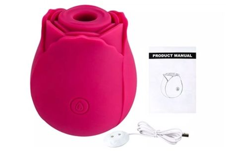 Rose Sucking Vibrator