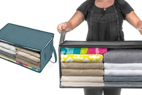 One, Two, or Four Clothes Storage Bags