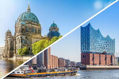 Miniferie i Hamborg eller Berlin inkl. morgenmad - 3 års indløsning!