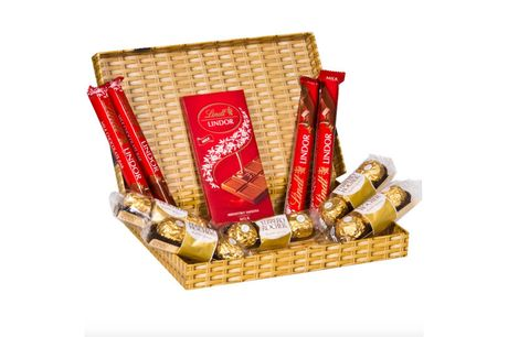 £14 for a Father's Day Ferrero and Lindt chocolate letterbox gift from Flowers Delivery 4 U