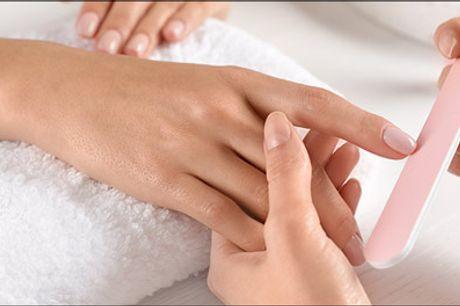 Forkæl dine hænder eller fødder - Det er ren luksus. Vælg mellem Luksus spa manicure eller luksus spa pedicure. Værdi kr. 599,-
