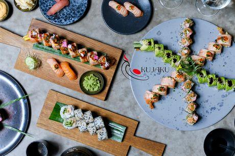 Kujaku Sushi - 18 el. 36 stk.. Autentisk og øko - hent sushi i topklasse til halv pris