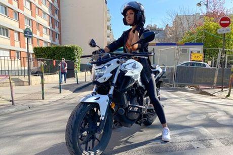 Formules permis moto au choix pour 1 personne, entre permis A2, formation AM, 125 ou passerelle A2 vers A chez AS Permis