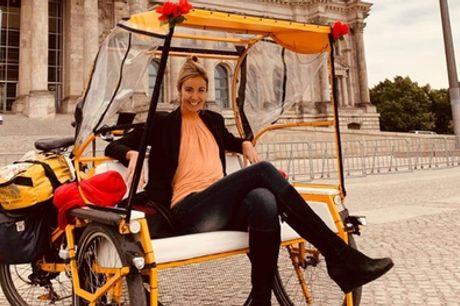 Bis zu 120Min. Rickshaw Sightseeing Tour durch Berlin für 2 Personen mit Om Shanti Rickshaw (bis zu 30% sparen*)