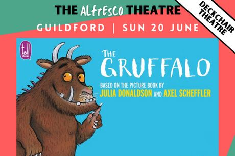 £11 for a ticket to The Gruffalo Live! from The Alfresco Theatre - choose from two times and save 35%