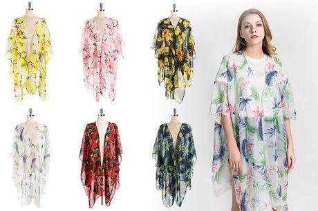 £7.99 for a women's beach chiffon kimono from Wishwhooshoffers