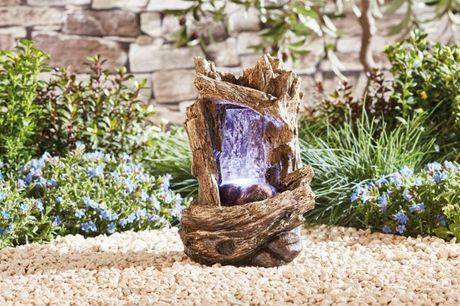 £29.99 instead of £69.99 for a Nature Falls Tabletop Water Feature from Thompson and Morgan - save 57%