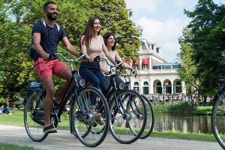 Ontdek Amsterdam op de fiets Dé manier om alle hotspots te zien<br /> Betrouwbare en lichtgewicht fietsen<br /> Geldig t/m 30 oktober 2021