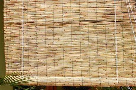 Estores de bambú Arella con polea