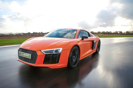 £49 instead of £199 for a three-mile Audi R8 or R8 V10 driving experience from U Drive Cars - choose from six locations and save 75%
