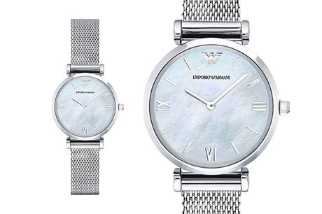 £109 instead of £289 for a ladies Emporio Armani AR1955 watch from CJ Watches - save 62%