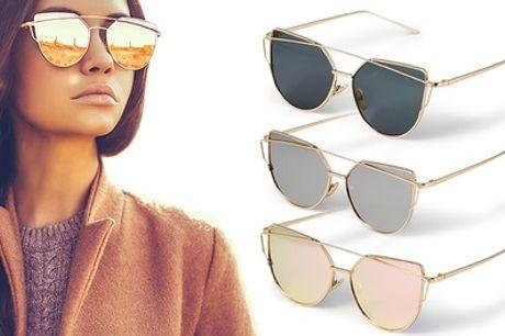 1, 2 of 3 cat eye zonnebrillen