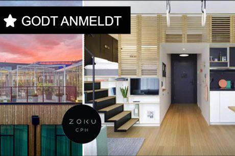 Prisvindende hotelkoncept i København - 1 overnatning for 2 personer i Zoku loft XL værelse inkl. morgenmad, vælg mellem forskellige ankomstperioder. Værdi op til kr. 1700,-