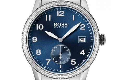 Hugo Boss 1513707. Det ikoniske designhus Hugo Boss har med deres nye serie af ure hævet baren for kvalitet og design. Hugo Boss tager udgangspunkt i det klassiske herreur Hugo Boss 1513707 har en flot stål lænke. Urkassen er ligeledes i stål. Urkskiven