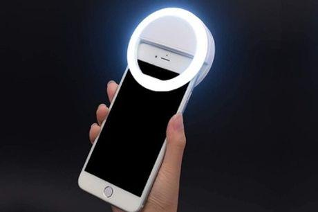 Luz LED de selfies para smartphones