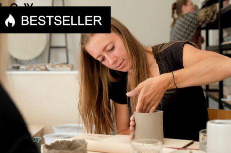 Lav din egen keramik hos Slow Studio. På Østerbro kan du slippe kreativiteten løs og nyde roen ved håndarbejde