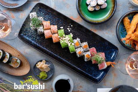 Sommer-menuer fra bar'sushi. Ambitiøst sted disker op med gourmet-sushi i topklasse!