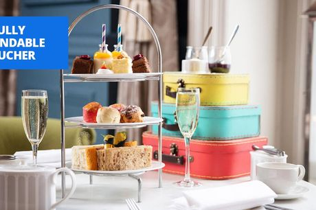£40 -- Sparkling afternoon tea for 2 in central London